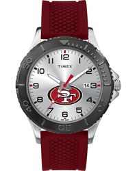 Timex Watch Gamer Crimson San Francisco 49ers Silver-tone/other/silver-tone - Metallic