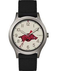 Timex - Watch Ringer Arkansas Razorbacks Gray/black/other - Lyst