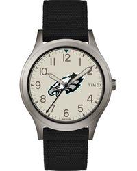 Timex - Watch Ringer Philadelphia Eagles Gray/black/other - Lyst