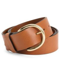 Tj Maxx - Made In Italy Leather Campus Belt - Lyst