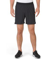 Tj Maxx Commander Shorts With Brief Liner - Black