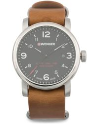Tj Maxx - Men's Swiss Made Urban Metropolitan Leather Nato Strap Watch - Lyst