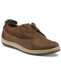 Tj Maxx - Full Grain Leather Comfort Shoes - Lyst