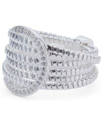 Tj Maxx - Made In Italy Sterling Silver Multi Row Ring - Lyst