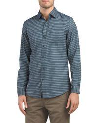 Tj Maxx - Modern Fit Stripe Woven Shirt - Lyst