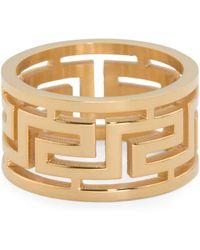 Tj Maxx - Men's Greek Key Gold Tone Stainless Steel Band - Lyst