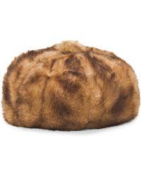 Tj Maxx - Vecchia Faux Fur Beret Cap - Lyst