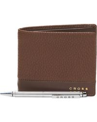 Tj Maxx - Leather Slim Wallet & Agenda Pen Gift Set - Lyst