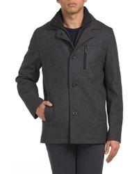Tj Maxx - Wool Barn Coat With Bib - Lyst