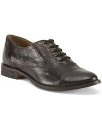 Tj Maxx - Made In Italy Laced Leather Oxfords - Lyst