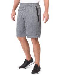Tj Maxx Double Bonded Pocket Training Shorts - Gray