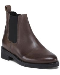 Tj Maxx Made In Portugal Leather Chelsey Booties - Brown
