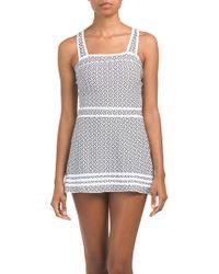 7146d73624 Addition Elle Seamless Control Slip Dress - Ti Voglio in Natural - Lyst