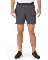 Tj Maxx Commander Shorts With Brief Liner - Multicolor