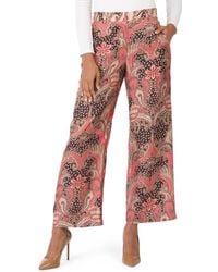 Tj Maxx Marlee Silk Blend Pants - Red