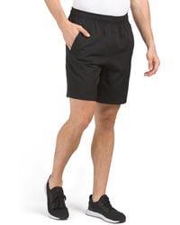 Tj Maxx Woven Athletic Shorts - Black