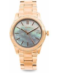 Tj Maxx Women's Adalyn Crystal Bezel Bracelet Watch - Metallic