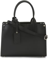 Tj Maxx - Made In Italy Leather Satchel With Shoulder Strap - Lyst