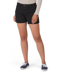 Tj Maxx Butter Rinse Denim Shorts - Black