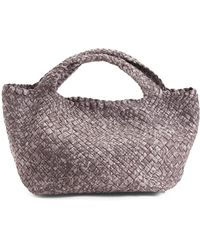 Tj Maxx - Made In Italy Handwoven Leather Tote - Lyst