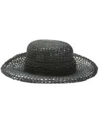 Tj Maxx - Made In Italy Open Hat Weave Hat - Lyst