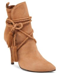 Tj Maxx - Made In Brazil Fadhila Suede Booties - Lyst