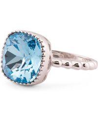 f82c80bd026c7 Tj Maxx Sterling Silver Swarovski Crystal Cat Ears Ring in Metallic ...