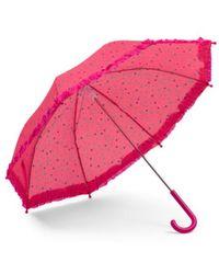 Tj Maxx - Kids Polkadot Ruffle Umbrella - Lyst