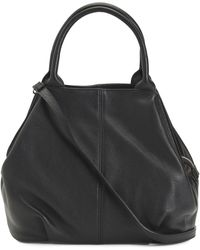 Tj Maxx - Made In Italy Large Convertible Leather Bowler Bag - Lyst