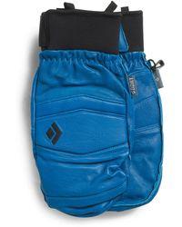 Tj Maxx Spark Leather Mitts - Blue