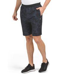 Tj Maxx Karma Athletic Camo Strength Shorts - Black