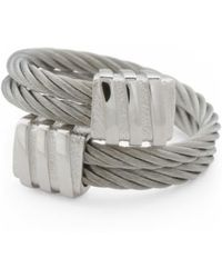 Tj Maxx - Men's Square Spiral Cable Ring - Lyst