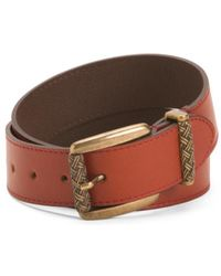 Tj Maxx - Made In Italy Leather Belt - Lyst