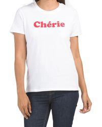 Tj Maxx Cherie Boyfit Tee - White