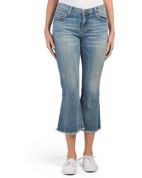 Tj Maxx - Made In Usa The Cropped Flip Flop Jeans - Lyst