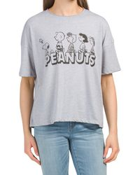 Tj Maxx Peanuts T-shirt - Gray