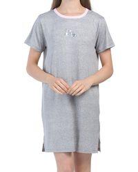 Tj Maxx Dogs Short Sleeve Sleep Shirt - Gray