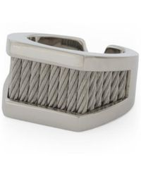 Tj Maxx - Men's Stainless Steel Cable Forever Love Ring - Lyst