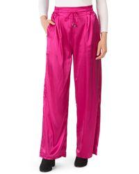 Tj Maxx Juniors Satin Wide Leg Pants - Pink