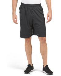 Tj Maxx Double Bonded Pocket Training Shorts - Black