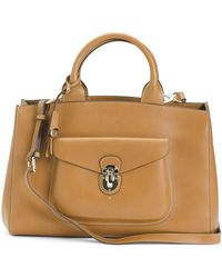 Tj Maxx - Made In Italy Leather Satchel - Lyst