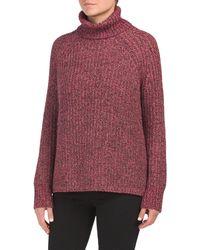 Tj Maxx - Tweed Cotton Turtleneck Tunic - Lyst