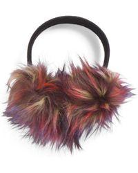 Tj Maxx - Faux Fur Earmuffs With Stud Band - Lyst