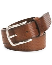 Tj Maxx - Made In Italy Textured Leather Belt - Lyst