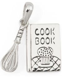 Tj Maxx - Sterling Silver Cookbook And Whisk Charm - Lyst