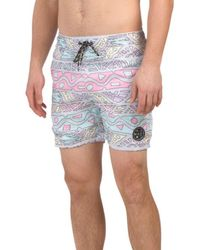 4e6cee545f8f8 Lyst - Imperial Motion 'quest' Board Shorts in Green for Men