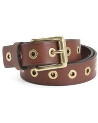 Tj Maxx - Made In Italy Narrow Leather Belt - Lyst
