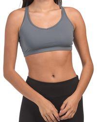 Tj Maxx Made In Usa Weave Bra - Gray