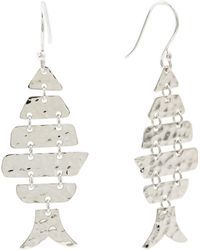 Tj Maxx - Made In Mexico Sterling Silver Moveable Fish Earrings - Lyst