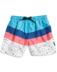 Tj Maxx - Big Boys Paint Splatter Swim Shorts - Lyst